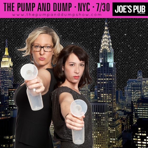 The Pump and Dump Show at Joe's Pub in New York July 30 2014