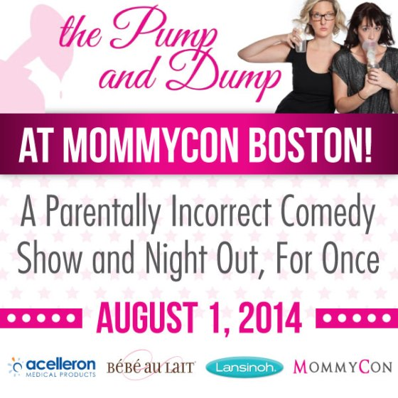 The Pump and Dump Show at MommyCon Boston