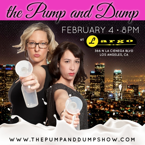 The Pump and Dump Show at Largo